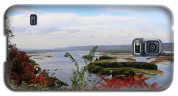 Mississippi River In The Fall Galaxy S5 Case
