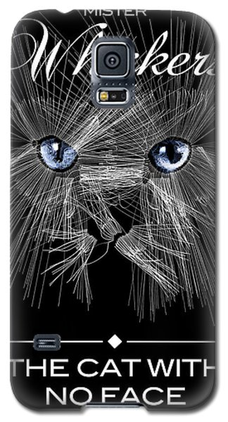Galaxy S5 Case featuring the digital art Mister Whiskers by ISAW Company
