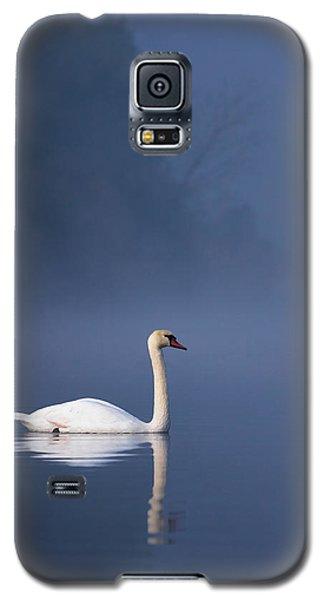 Misty River Swan 2 Galaxy S5 Case