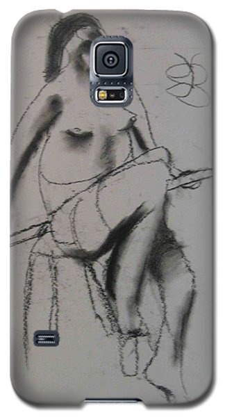 model named Chieh three Galaxy S5 Case