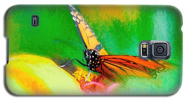 Monarch Butterfly Beautiful Smudge Galaxy S5 Case