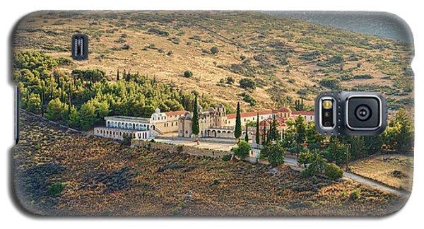 Monastery Agion Anargiron Above Argos Galaxy S5 Case