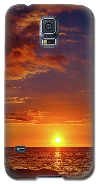 Monday Sunset Galaxy S5 Case
