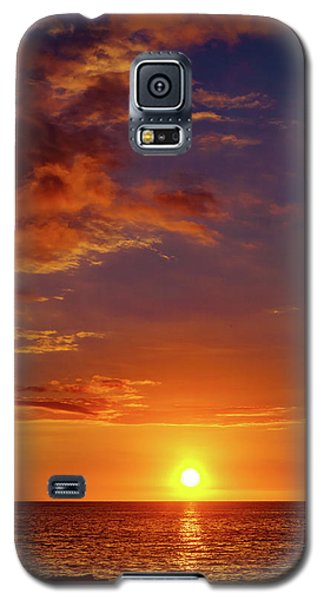 Monday Sunset Galaxy S5 Case