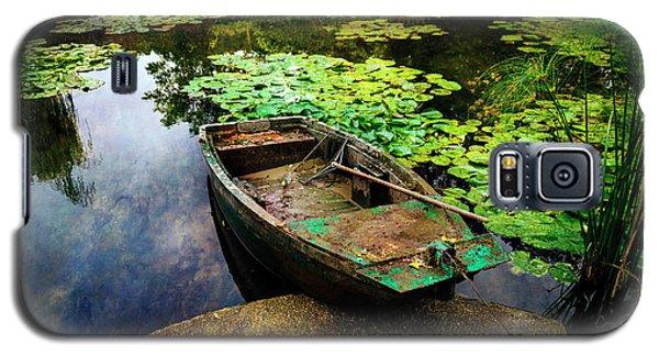 Monet's Gardeners Boat Galaxy S5 Case