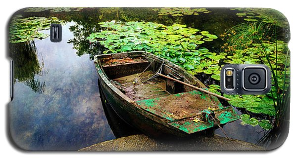 Monet's Gardeners Boat Galaxy S5 Case
