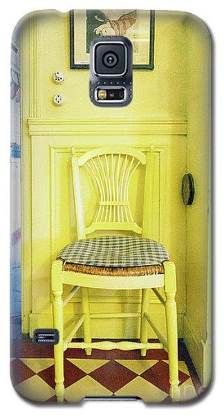 Monet's Kitchen Yellow Chair Galaxy S5 Case
