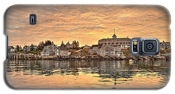 Monhegan Sunrise - Harbor View Galaxy S5 Case