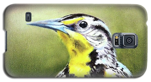 Montana Meadowlark Galaxy S5 Case