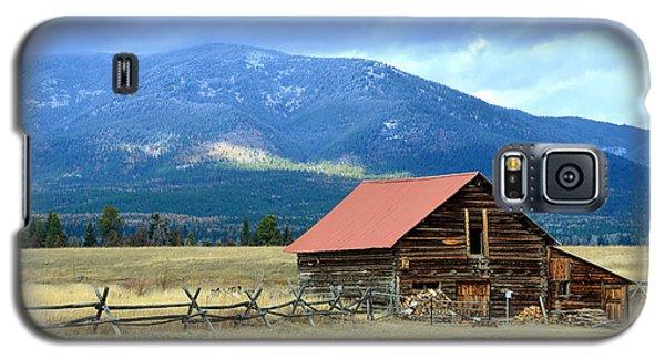 Montana Ranch Building Galaxy S5 Case