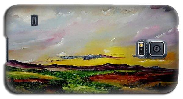 Montana Summer Storms        5519 Galaxy S5 Case