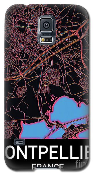 Montpellier City Map Galaxy S5 Case