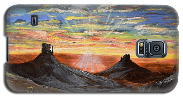 Monument Valley And Kokopelli Galaxy S5 Case