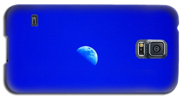 Moon In A Daytime Sky Galaxy S5 Case