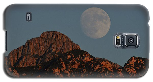 Moon Rise Over Mount Wrightson  Galaxy S5 Case