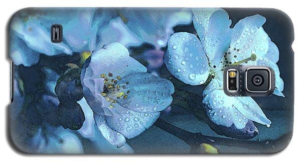 Moonlit Night In The Blooming Garden Galaxy S5 Case