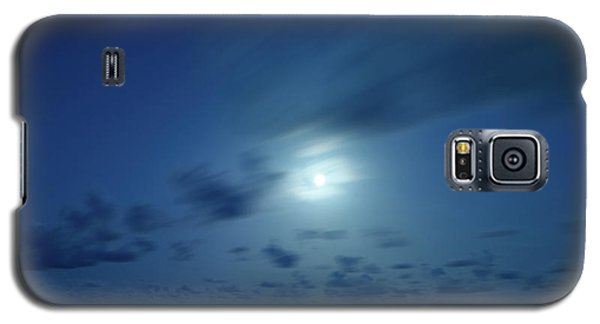 Moonrise Over The Sea Galaxy S5 Case