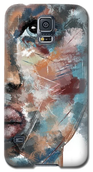 Moonshine-woman Abstract Art Galaxy S5 Case