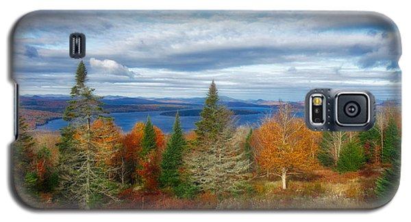 Mooselookmeguntic Lake Fall Colors Galaxy S5 Case