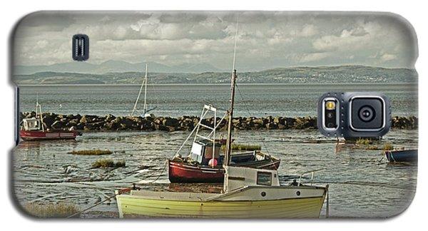 Morecambe. Boats On The Shore. Galaxy S5 Case
