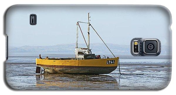 Morecambe. Yellow Fishing Boat. Galaxy S5 Case