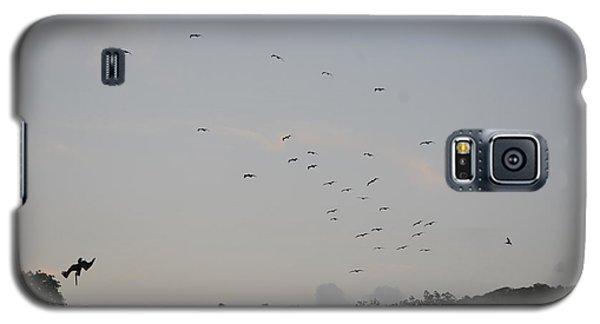 Morning Flock Rise Galaxy S5 Case