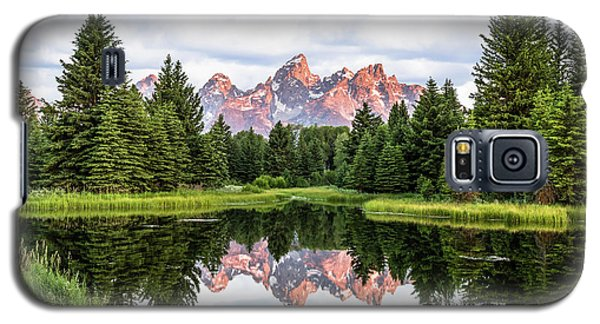 Morning In The Tetons Galaxy S5 Case
