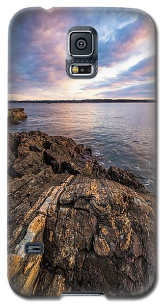 Morning Light Over The Piscataqua River. Galaxy S5 Case