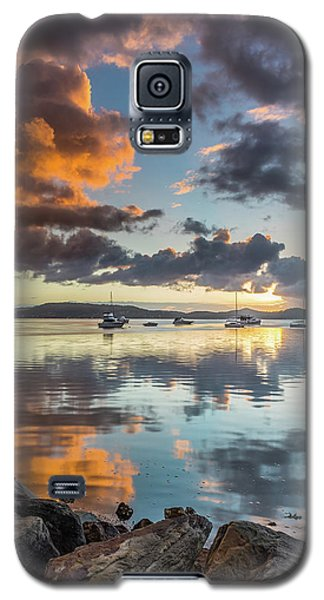 Morning Reflections Waterscape Galaxy S5 Case