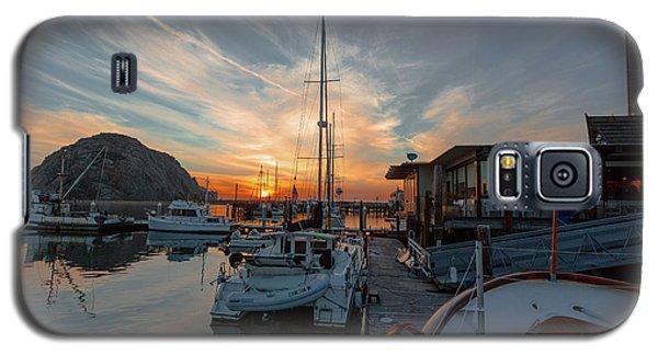 Morro Bay Sunset Galaxy S5 Case