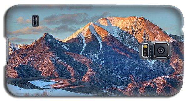 Sangre De Cristo Galaxy S5 Case - Mount Herard, Great Sand Dunes National by Tim Fitzharris
