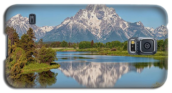 Rocky Galaxy S5 Case - Mount Moran On Snake River Landscape by Brian Harig