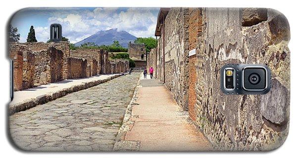 Mount Vesuvius And The Ruins Of Pompeii Italy Galaxy S5 Case