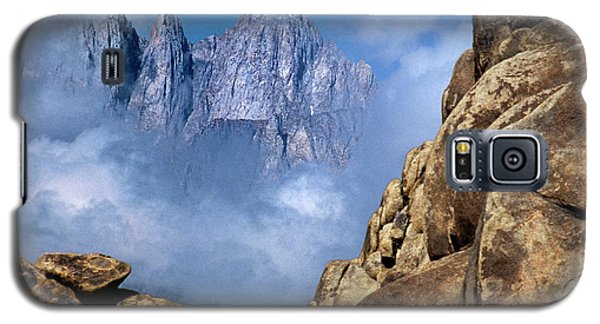 Mount Whitney Clearing Storm Eastern Sierras California Galaxy S5 Case