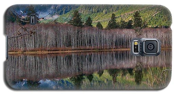 Mountain Lake Reflections Galaxy S5 Case