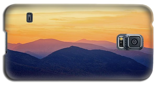 Mountain Light And Silhouette  Galaxy S5 Case