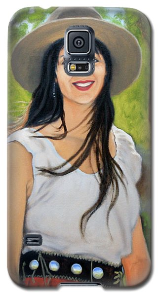 Mountain Megan Galaxy S5 Case