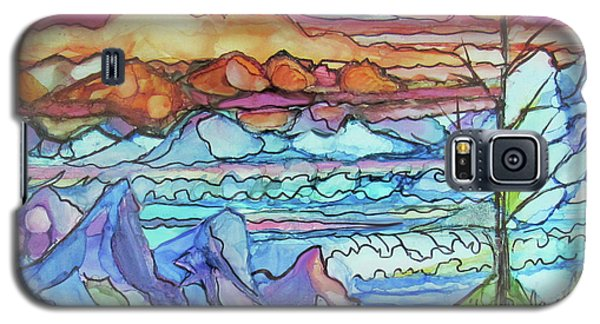 Mountains And Sea Galaxy S5 Case
