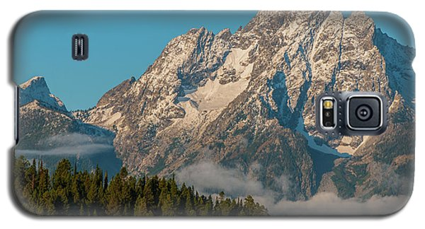 Mt Moran Dressed In Clouds Galaxy S5 Case