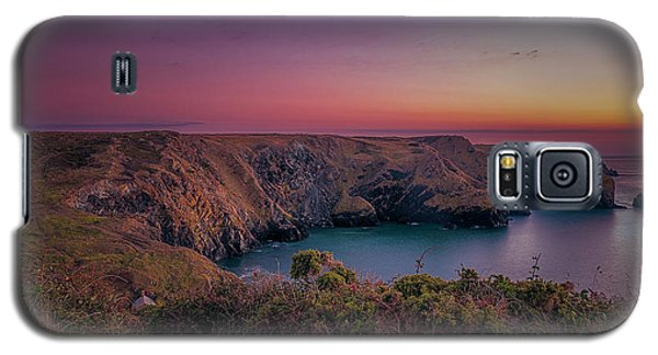 Mullion Cove Cornwall Sunset Galaxy S5 Case