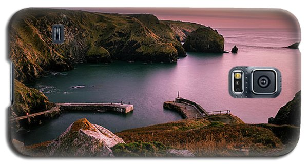 Mullion Cove Sunset - Cornwall General View Galaxy S5 Case