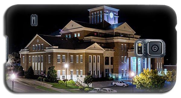 Municipal Center At Night - North Augusta Sc Galaxy S5 Case
