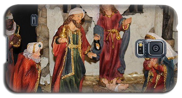 My German Traditions - Christmas Nativity Scene Galaxy S5 Case