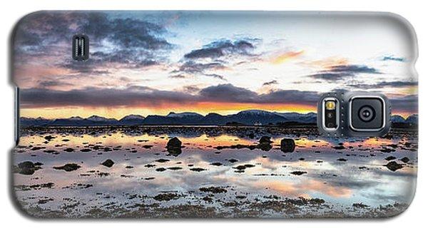 Myre Swapm Walkway On Vesteralen Norway Galaxy S5 Case