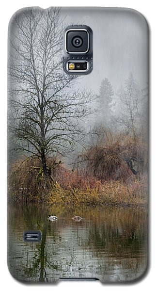 Galaxy S5 Case featuring the photograph Mystic Lake by Jacqui Boonstra