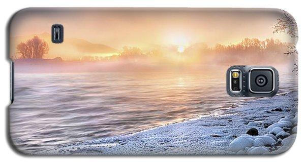 Mystical Winter Morning Galaxy S5 Case