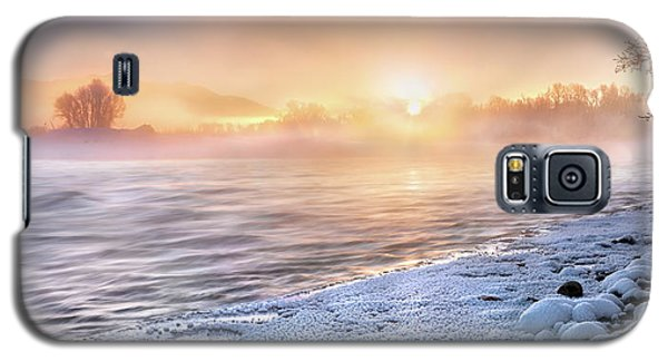 Mystical Winter Morning Galaxy S5 Case