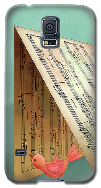 N Is For Notes Galaxy S5 Case