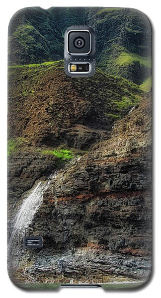 Na Pali Coast Waterfall Galaxy S5 Case