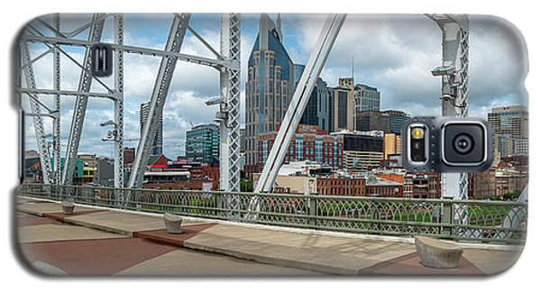 Nashville Cityscape From The Bridge Galaxy S5 Case
